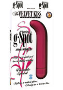 The Velvet Kiss Collection Mini G Spot Massager Multispeed...