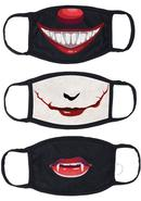 Maskerade Protective Mask (joker/ Penny Wise/ Vampire) 3...