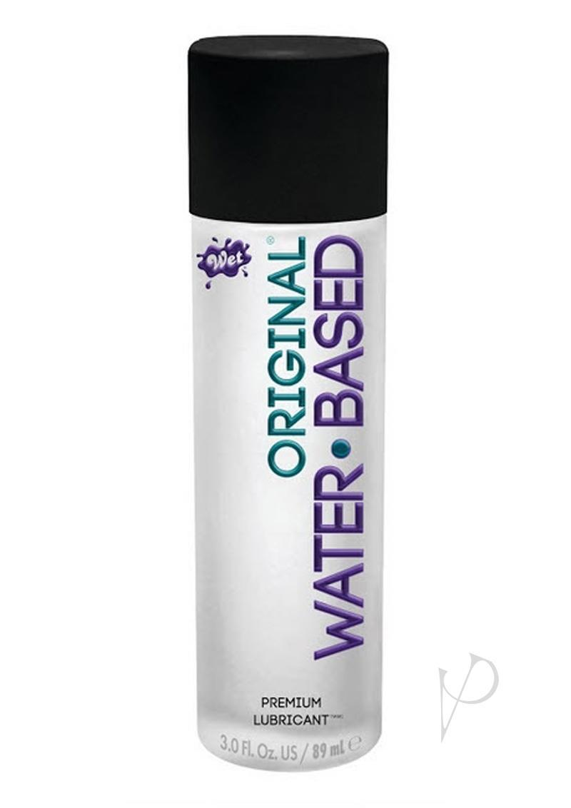 Wet Original Water Based Gel Lubricant 3.5 Ounce